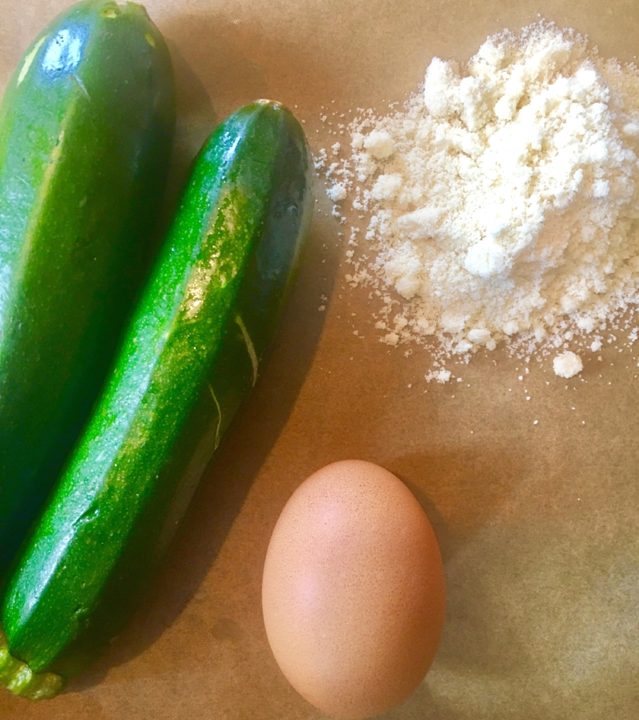 Only 3 beautiful ingredients for the crust!