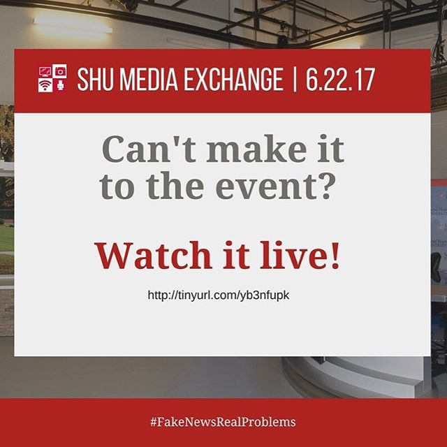 Can't make the Exchange? Watch it live!