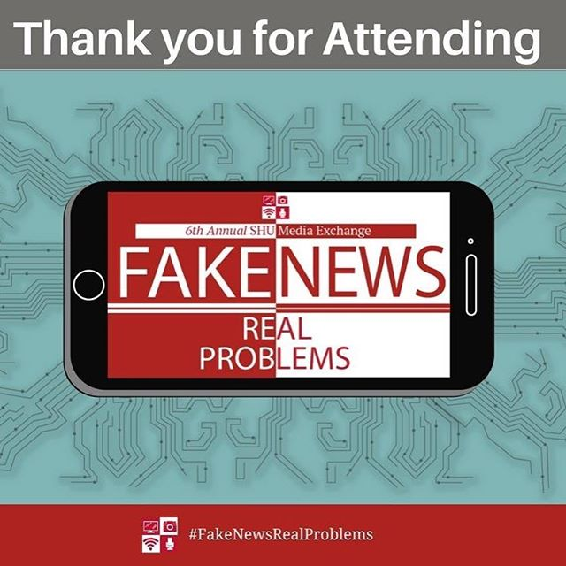 Thank you attending the SHU Media Exchange!