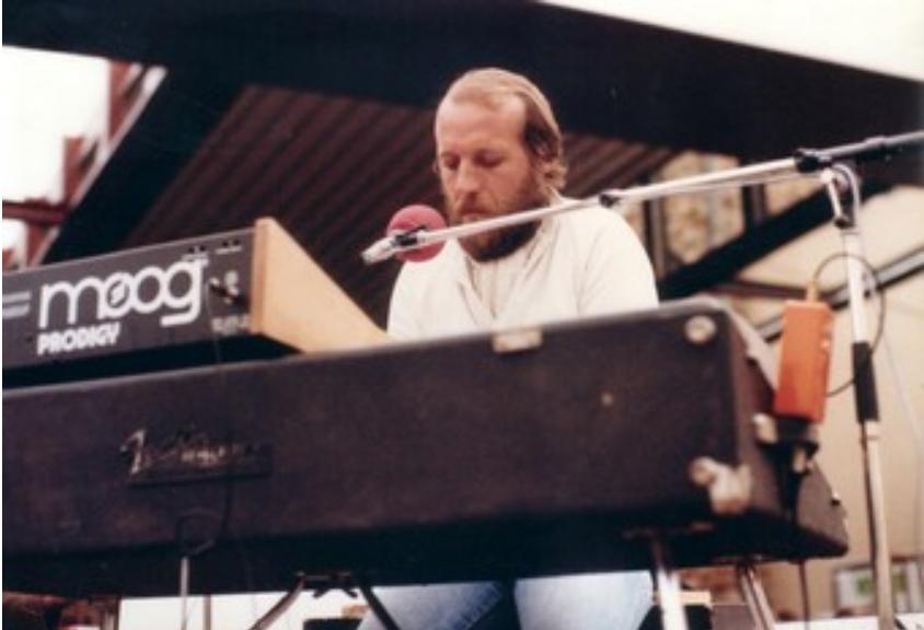 Alain Mion, circa 1978.