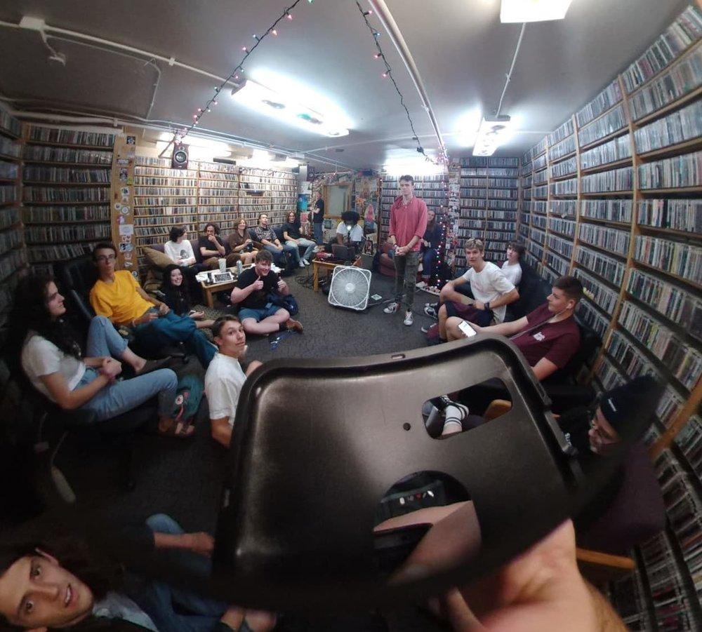 360-degree photo from one of our September Volunteer Meetings, taken by Karsten Shtanko.