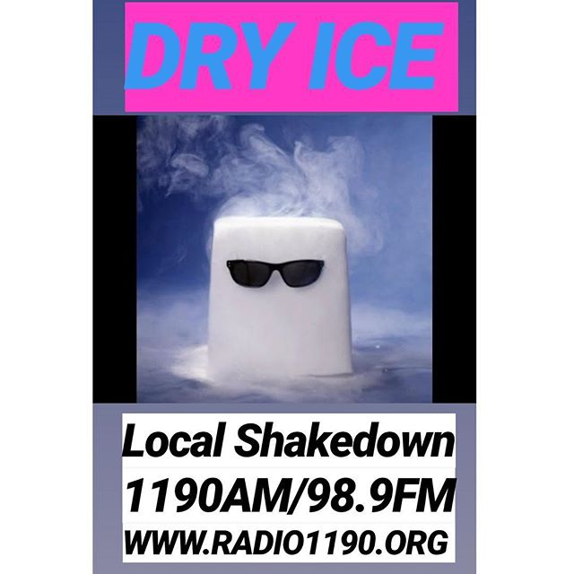 Today on @localshakedown, listen 2 a sweet set from @dry_ice_band ! !