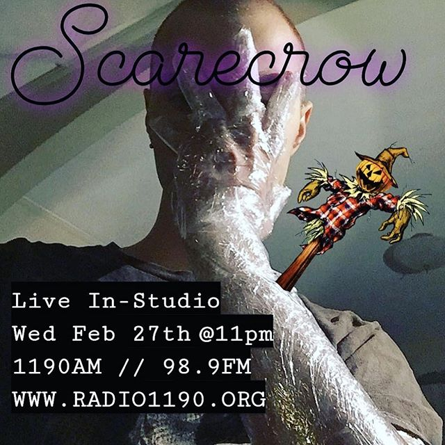 Tune in at 11 for a late night in-studio with Scarecrow!