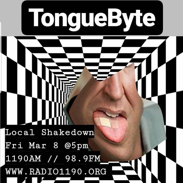 Today on Shakedown tune in for a live set from TongueByte! 5-6pm🤪
