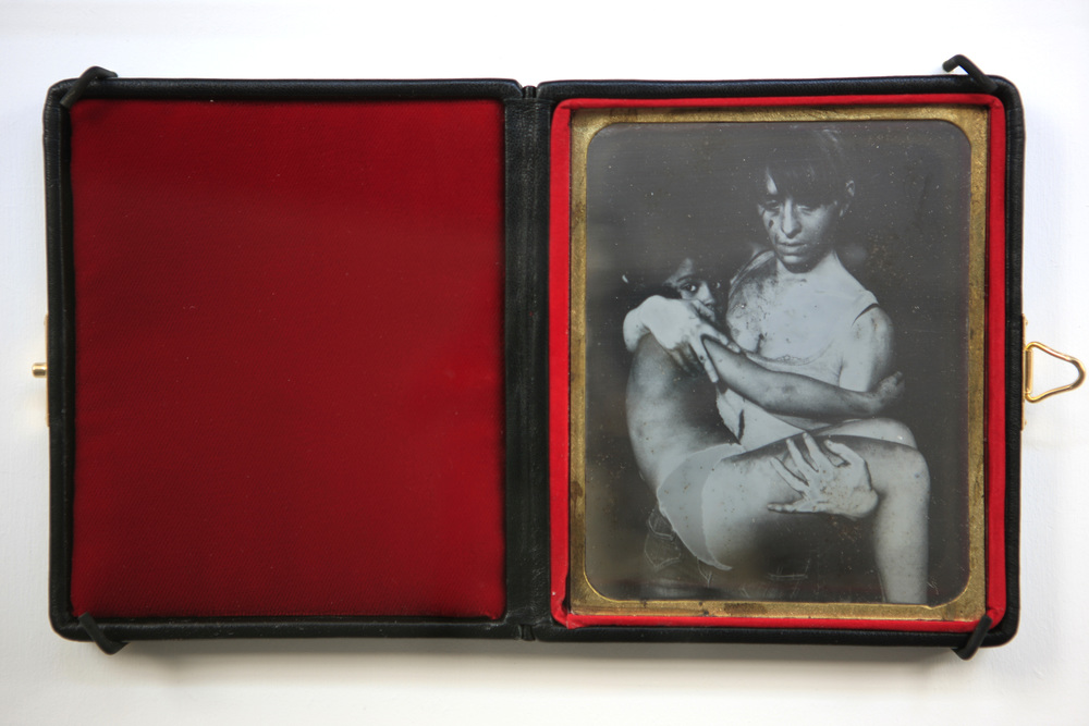 Mat Collishaw<br><i>Daguerreotype 17</i><br><i>Deliverance</i><br>2007<br> Edition of 10