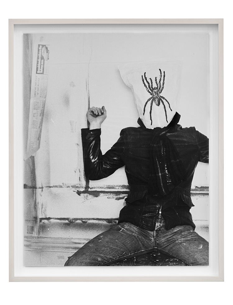 Denis Masi  Performing for the Camera 1968 Black & white and colour photographs  57cm x 46.5cm x 4cm