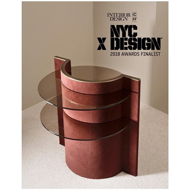 Yay! The TORUS collection has been named a finalist in @interiordesignmag 's @nycxdesign awards in the Made in the Boroughs category alongside @kinandcompany and @thecoast.studio #nycxdesignawards #microsuede