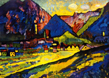 Wassily Kandinsky, Bavarian Mountains,