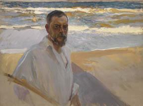 Joaquin Sorolla, Autoretrato