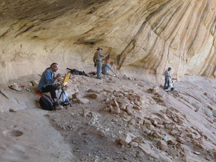 Anasazi Ruins, Utah-Jerome, James, Marc, Eric_s