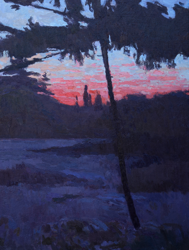 "In the Gloaming, 24"" x 18"""