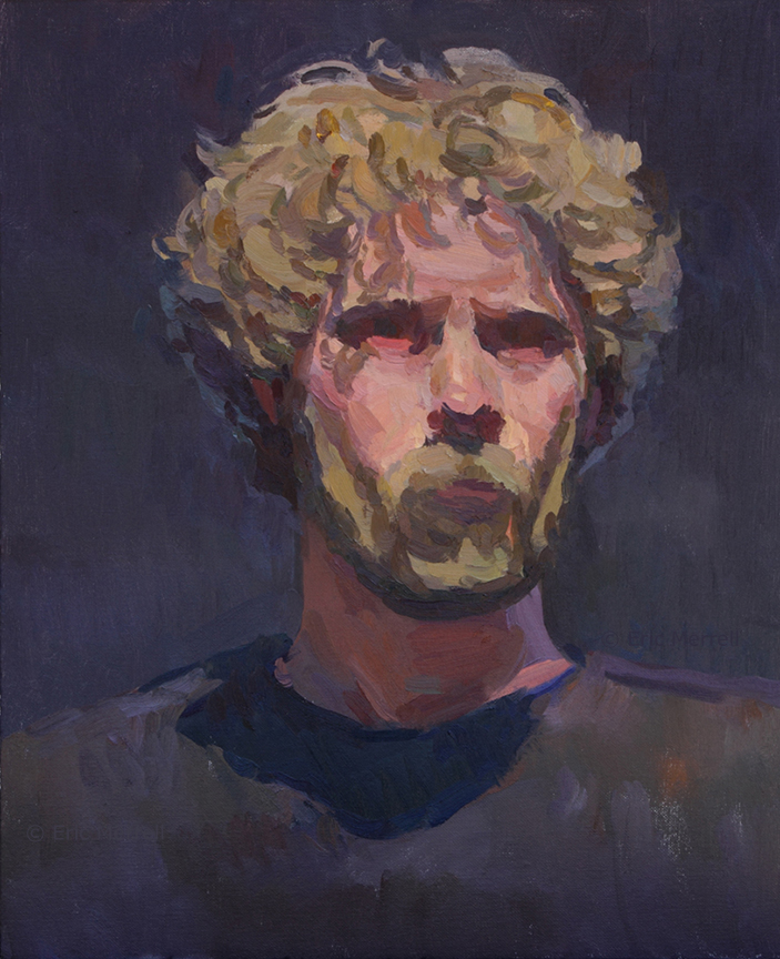 Self-Portrait Indoors (2016)
