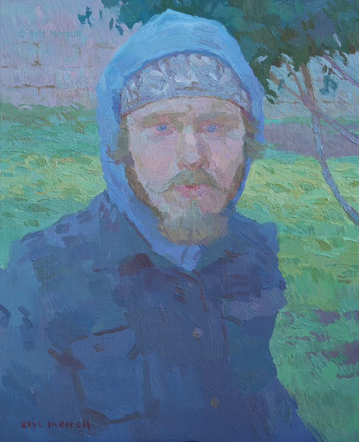 Self-Portrait in Winter (2007)