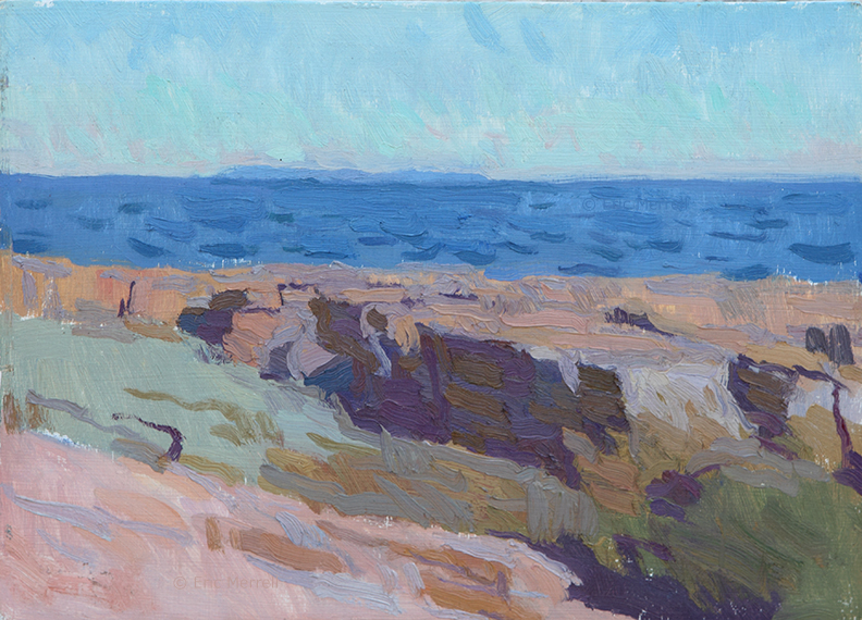 Ocean Point (View of Monhegan)