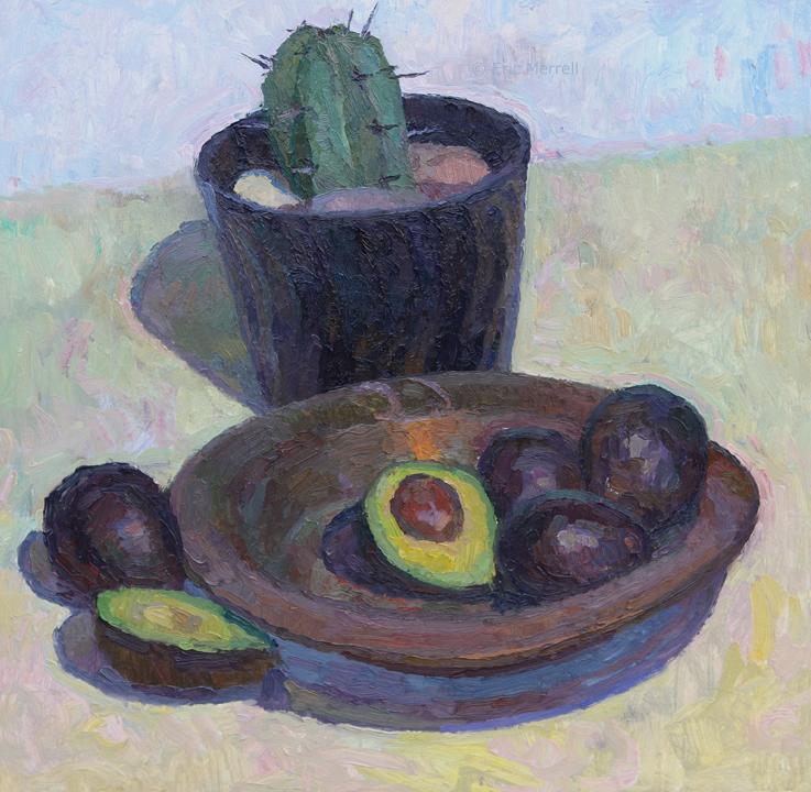 Avocado and Cactus