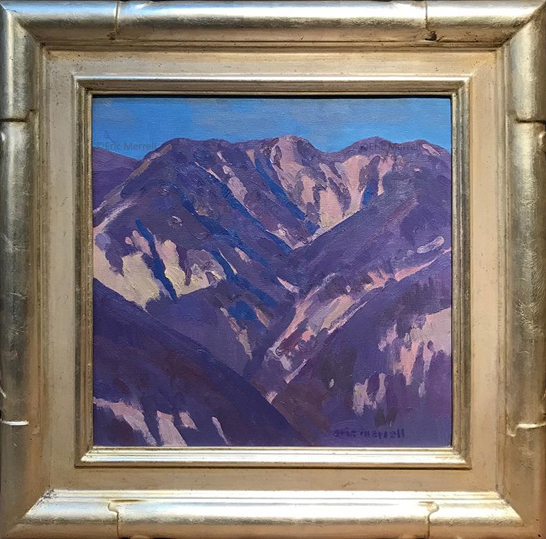 Muir Peak, 12x12