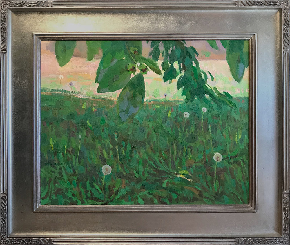 Eric Merrell, Dandelions, 16x20
