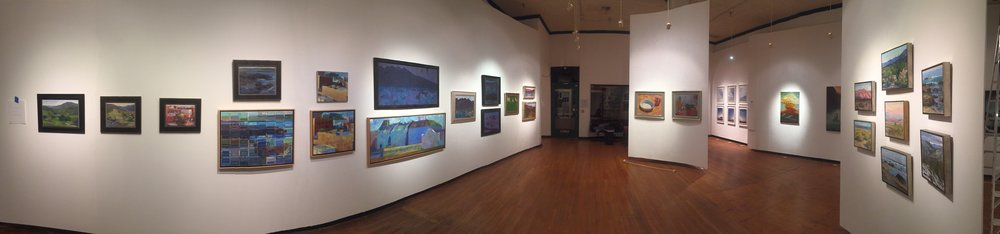 An overview of the exhibition. (SAC Arts Gallery, Santa Ana)