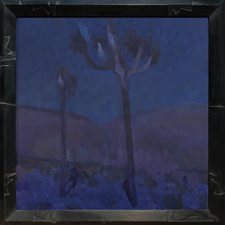 Cobalt Desert, 24x24