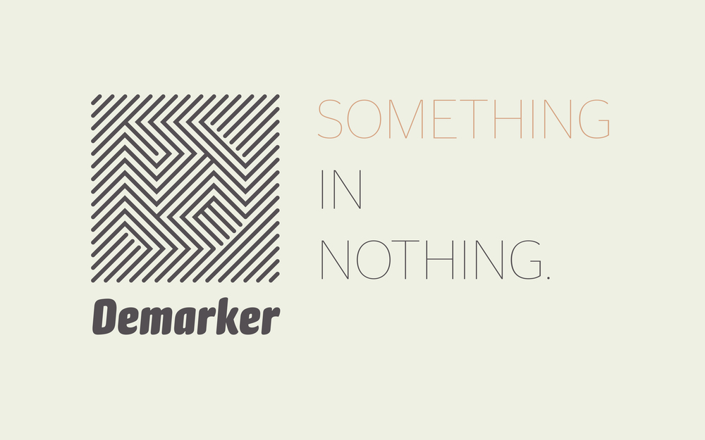 The  DEMARKER  technology and identity were created by my team at Creature.