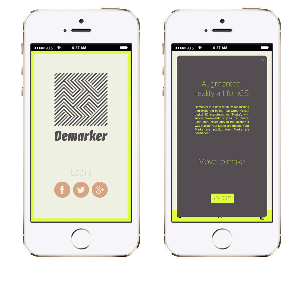 DEMARKER  is a new medium for making and exploring in the real world.
