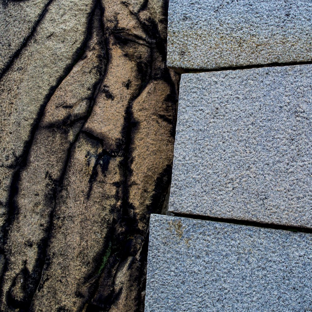 One of literally hundreds of Japanese castle wall detail shots. This one says pretty much what all of the others were trying to say and lets face it, how many would it take?