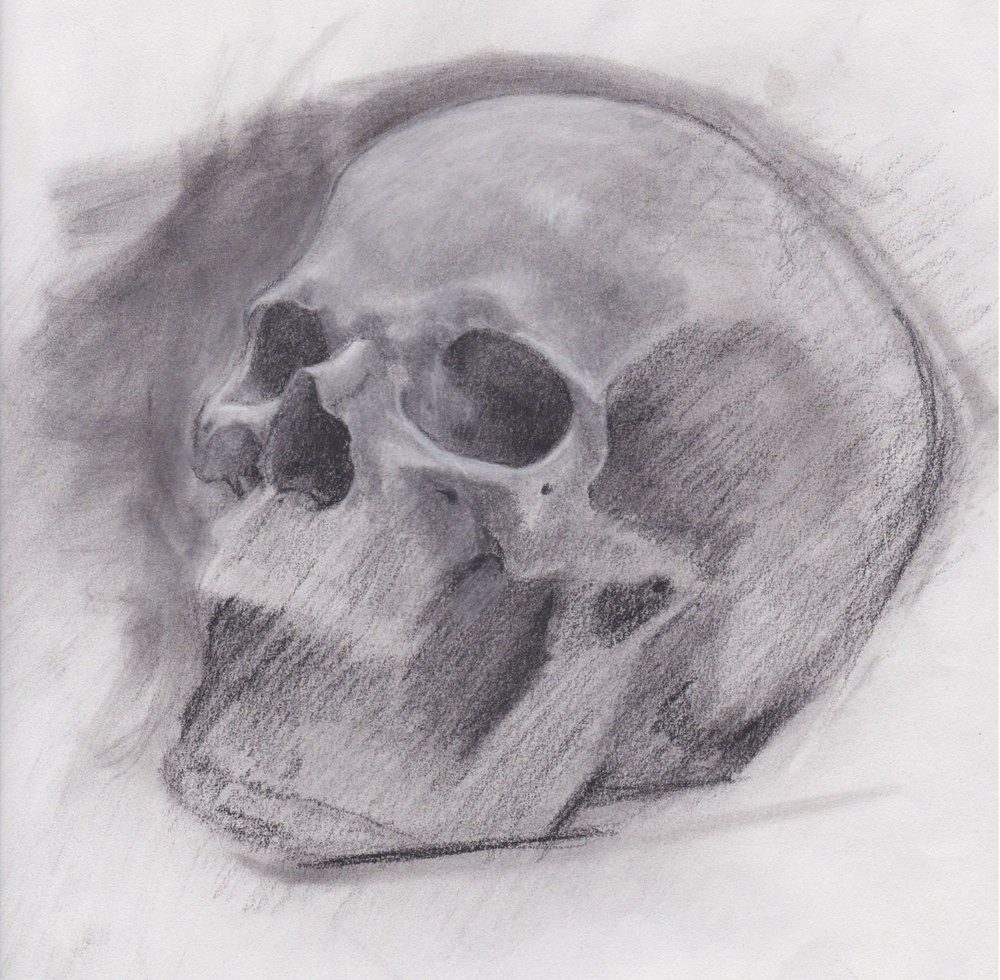 Study from life - Charcoal