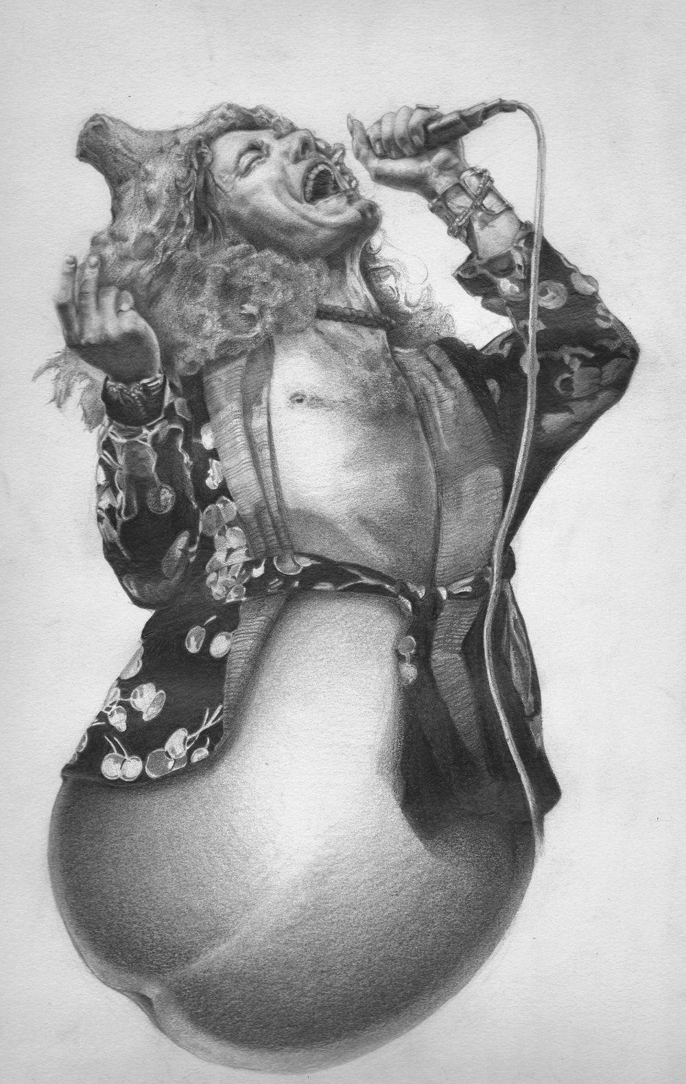 Robert Eggplant - Graphite