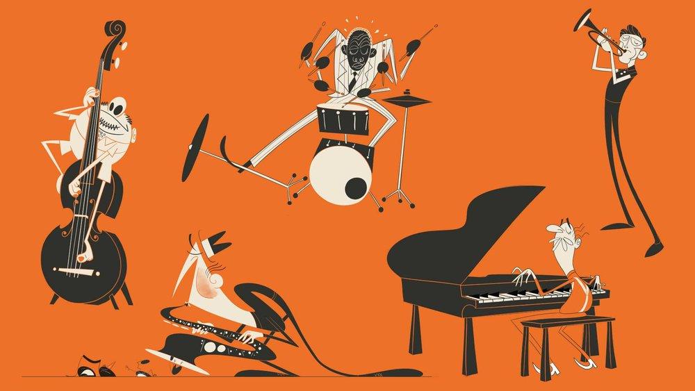 Jazz Quintet - UPA Style Exploration