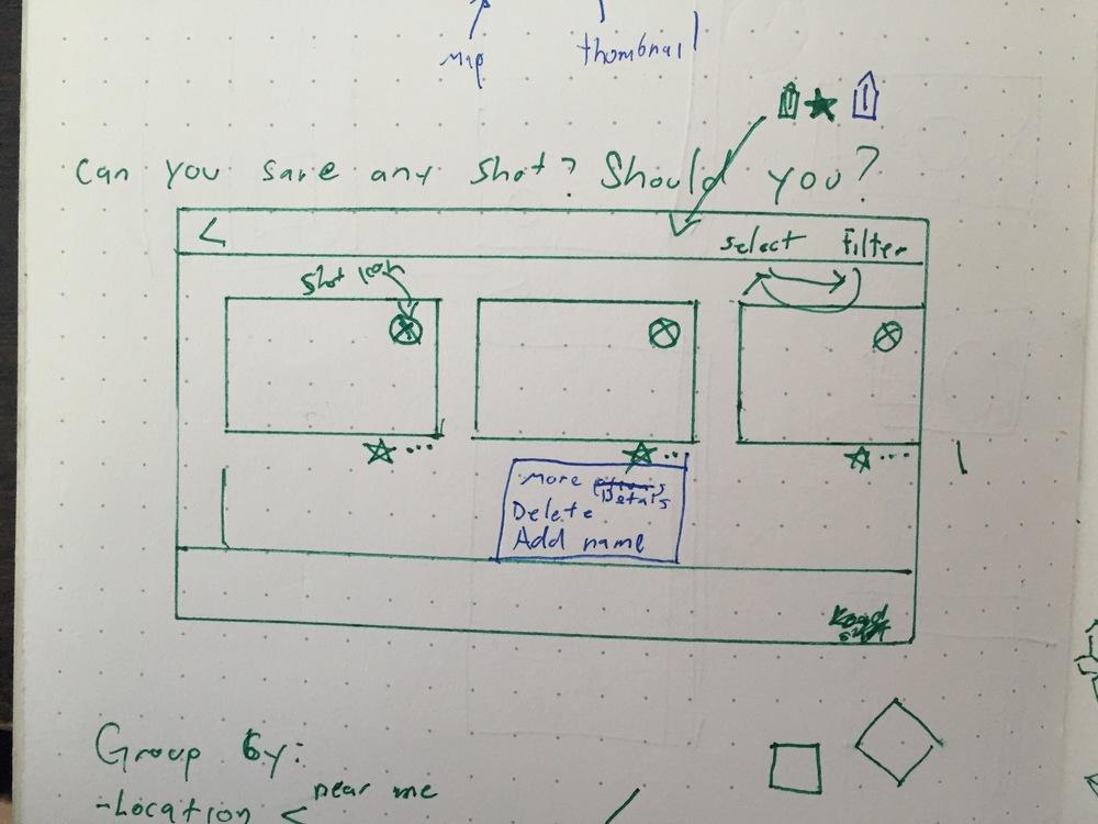 Smart Shot List Sketch