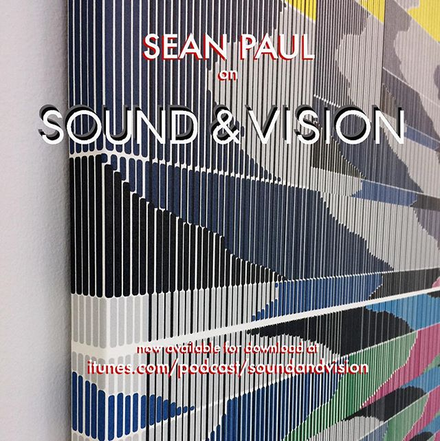Salt Lakes, doomsday, east and west and in-between all on this week's podcast with Sean Paul 🗣. Link in bio . . . #art #podcast #soundandvisionpodcast #seanpaul #seanpaulartist @davidlewisgallery #MICA #Columbia #SVA #artist #talk #solo #show #les