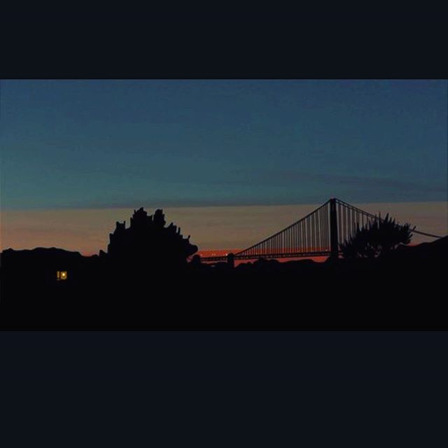 """Golden Gate"" #animation #loop #art #sf #san Fran #goldengate"