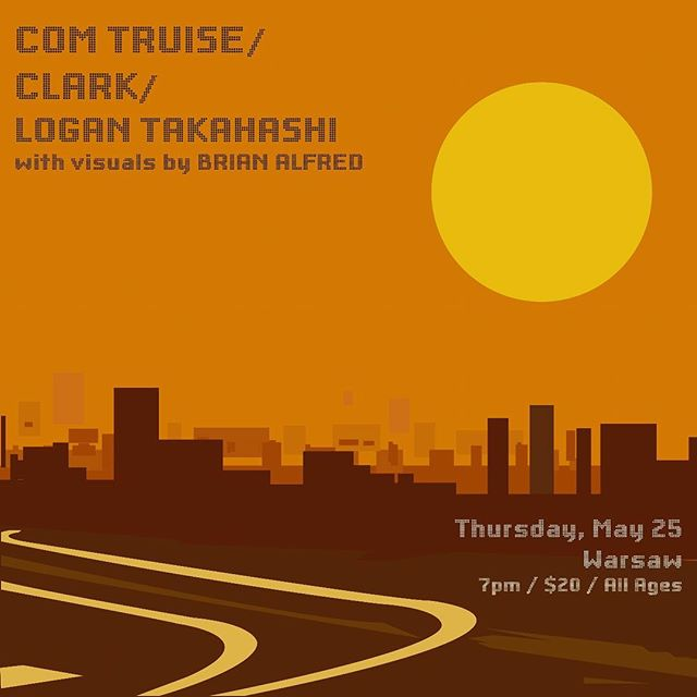 doing some animations for @logan_t_  with @comtruise and @throttleclark get tix early! #animation #logantakahashi #art #music #live #show #warsaw #brooklyn #ghostly #performance #visuals @ghostly @warprecords