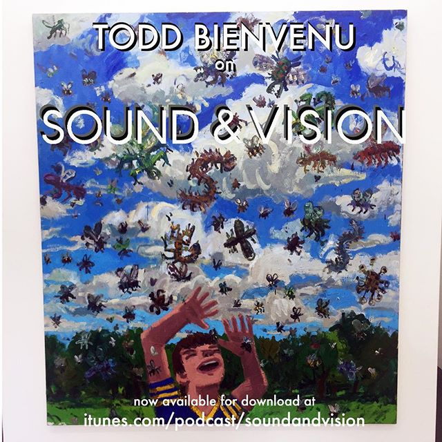 @toddbienvenu on the cast! Rock&Roll, Karate Kid, Little Rock, Louisiana, 10,000 hours, painting chops all covered. Great guy, great show, great talk. Get into it, link in bio 🙌🏻🎧🎸. @yoursmineandoursgallery #soundandvisionpodcast #art #talk #painting #artist #painter #toddbienvenu #rockandroll #marshall #guitar #newyorkstudioschool #nyss #newyork #brooklyn #fun