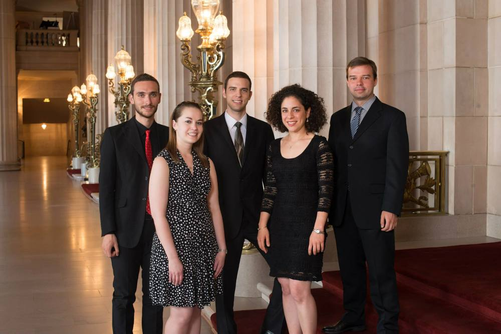 Pianists at the Merola Opera Program, 2014