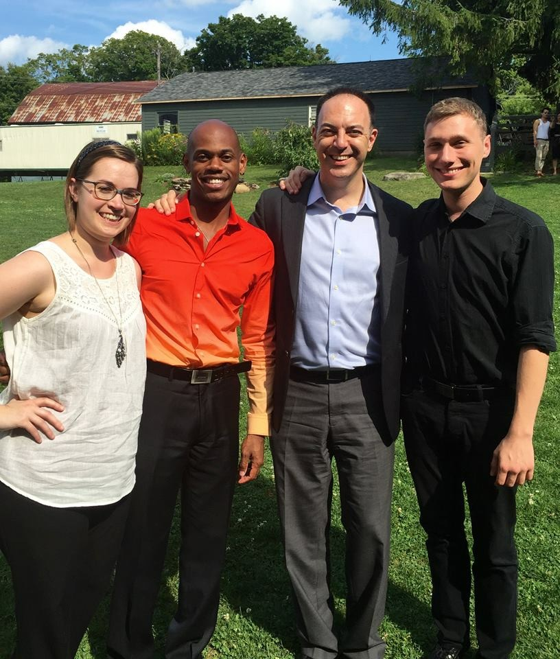 Music staff at the Glimmerglass Festival, 2015