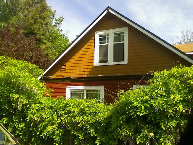 Seattle home exterior paint.