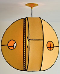 "large ""CIRCA"" pendant"