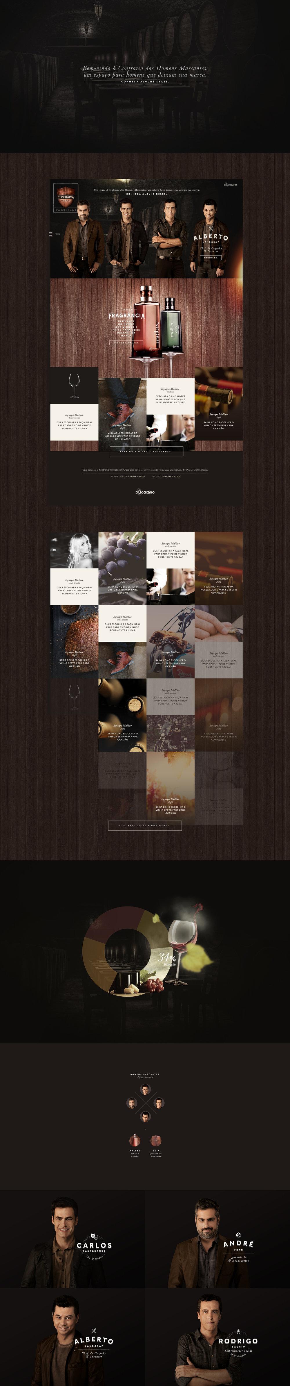O Boticário, Malbec, Interface Design