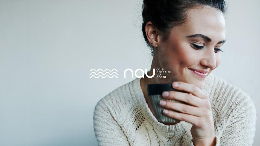 Nau Café, Branding, Identidade Visual, Naming.