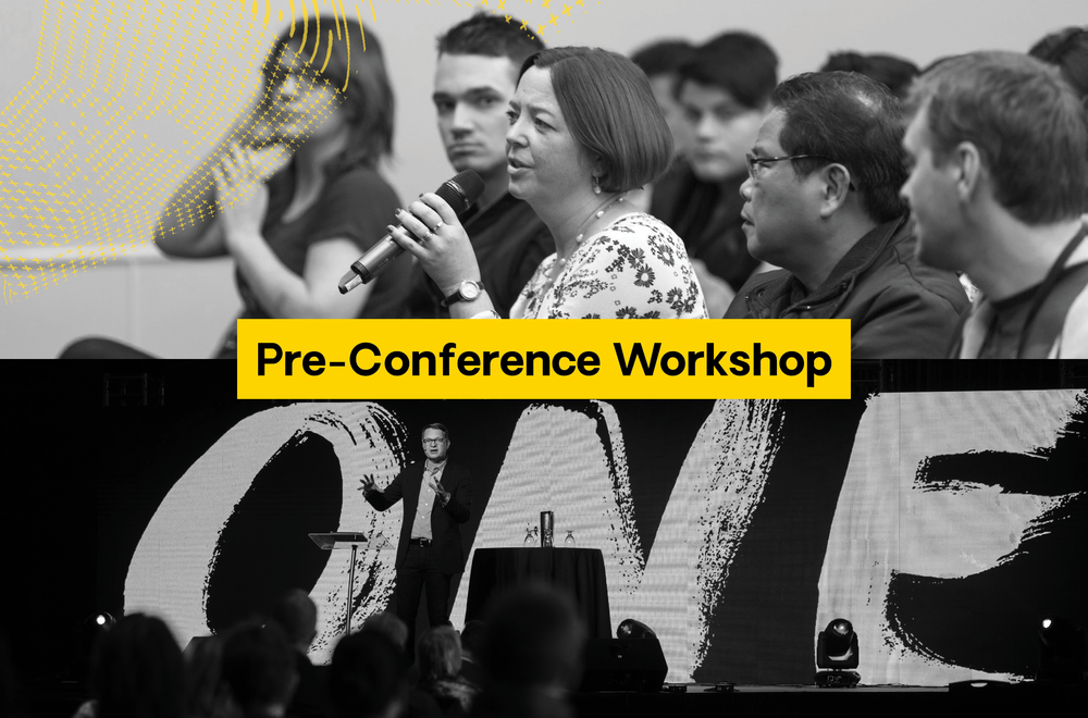 Take Friday off as a pro-d day. Before the conference officially kicks off on Friday night, join an all-day workshop that will dive deep into one specific area of growth or ministry.