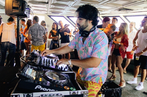 Goldroom Boat Party