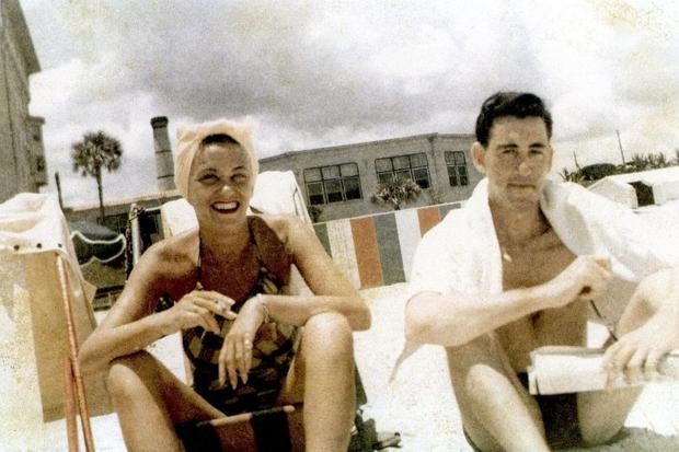 J.D. Salinger and his sister, Doris, vacationing in Daytona Beach, Florida | Katherine Huber