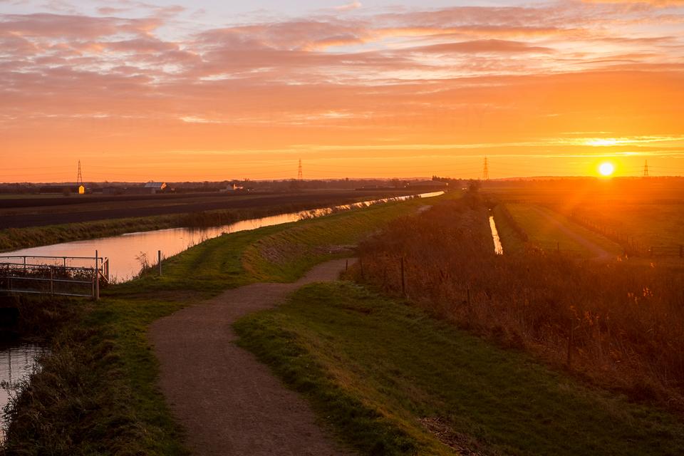 Burwell Fen Sunrise