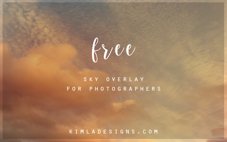 Freebie Friday: English Sky Overlays Photoshop Tutorial — SPLIFFINGTON
