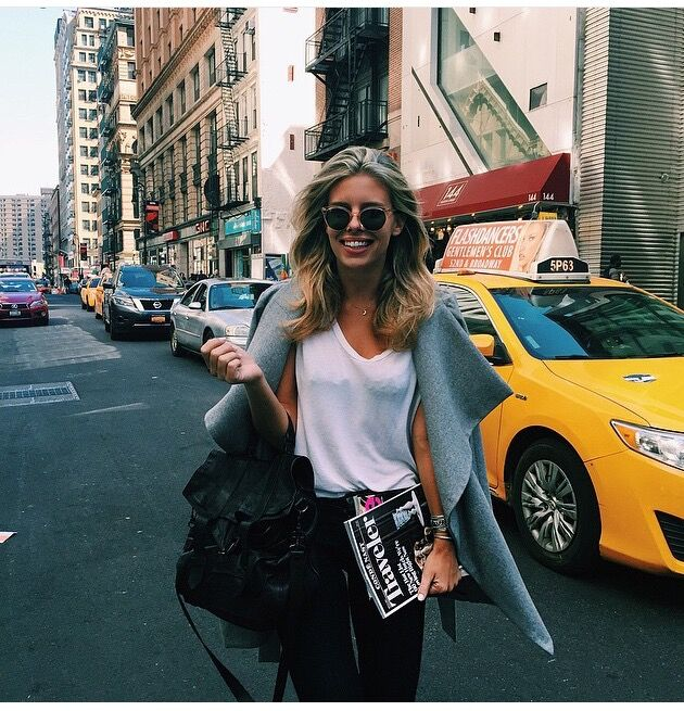 Tash Oakley in New York