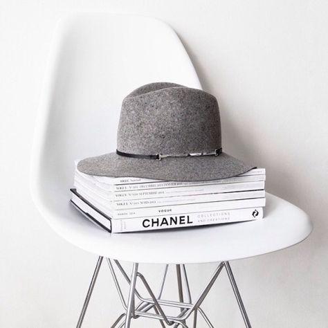 white, grey, chanel, hat