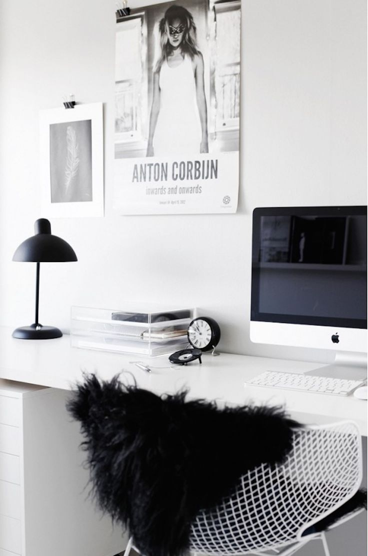 black, white and grey home inspiration