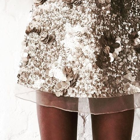 Aje sequin skirt
