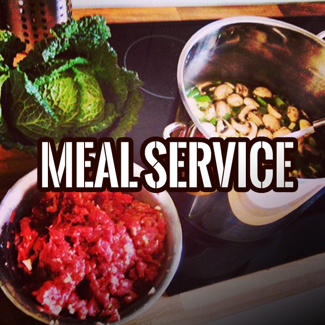 Pick Up or Home Delivery Meal Service